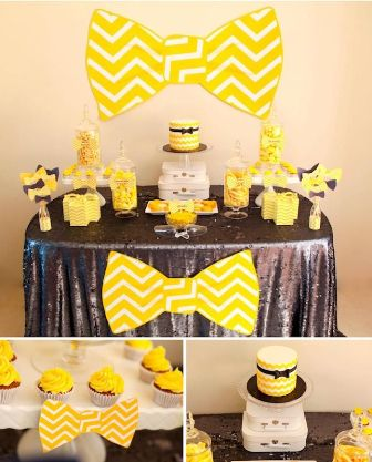 Ascots Cardigans and Bow Ties Theme party
