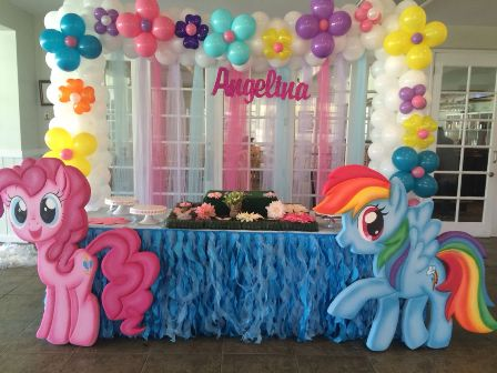 My Little Pony theme party