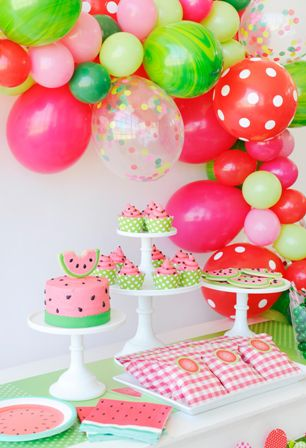 watermelon theme party